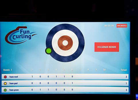 score curling uitje