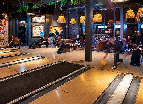 Bowling, bowlen, activiteit Groningen 4 - De Postwagen