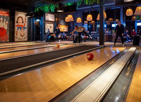 Bowling, bowlen, activiteit Groningen 5 - De Postwagen