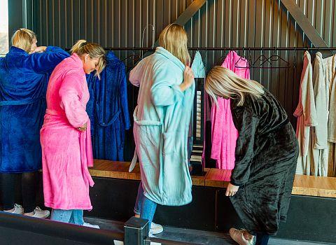 badjassen vrijgezellenmfeest aankleding