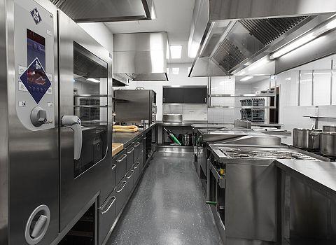 Werken in de keuken koude kant