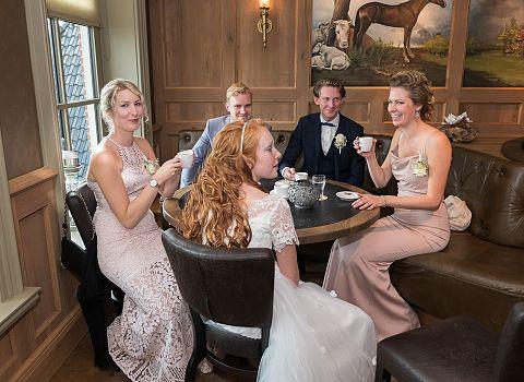 Trouwfeest, huwelijksreceptie Tolbert | De Postwagen
