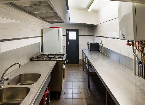 keuken groepsaccommodatie
