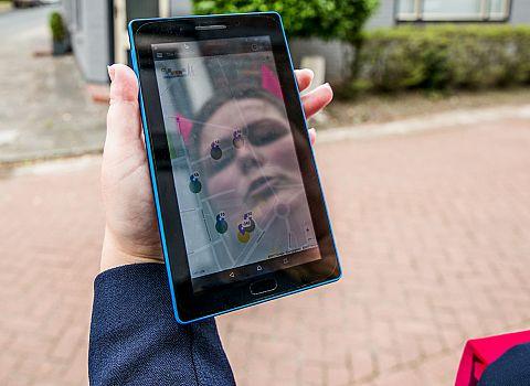 tablet citygame drenthe